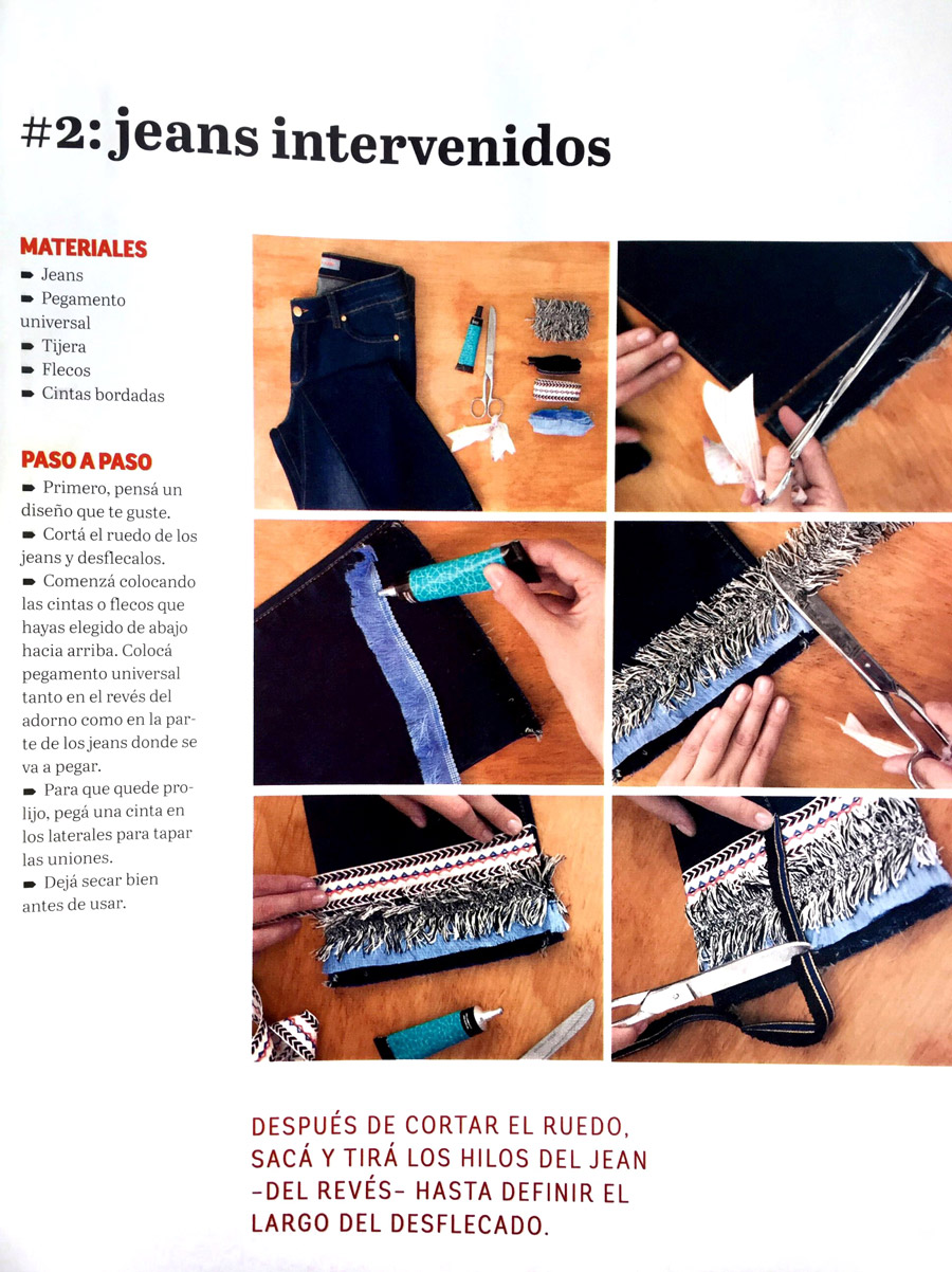 The dignanis Revista Ohlalá Invierno 2016 DIY FASHION TO THE RESCUE